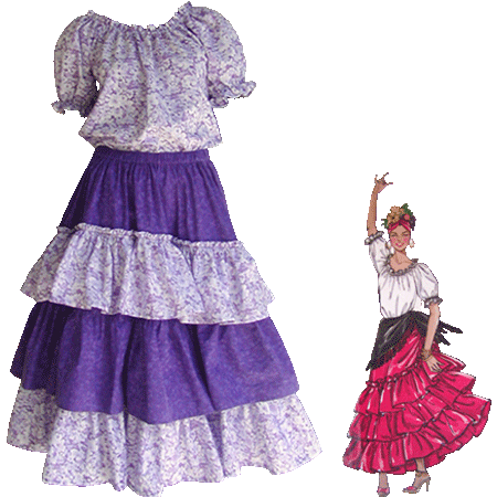 Wonderful Mexican Fiesta Dress Mexican Dress For Women Campesina