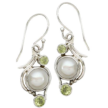 Glass Hispanic Earrings
