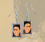 Double-Sided Frida's Image  Earrings