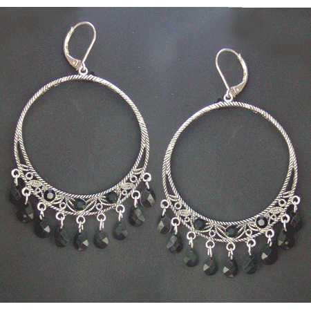 Mexican style chandelier earrings mexican chandelier earrings mozeypictures Images