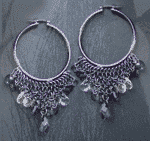Water Droplet Mexican Style Earrings