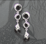 Latina Crystal Style Earrings