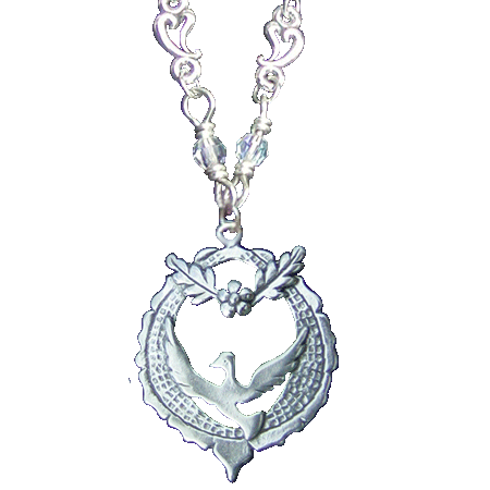 Italian Peaceful Dove Necklace