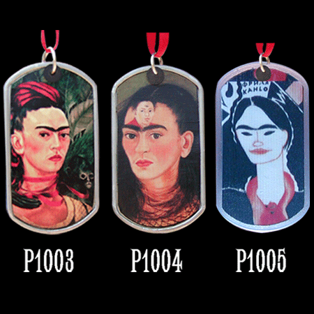 Double-Sided Frida's Image Pendant