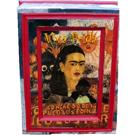Frida Wooden Box