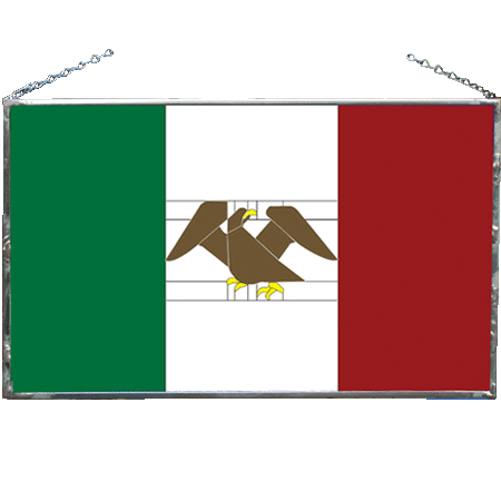 Mexican Stained Flag