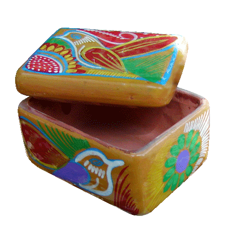 Terracotta Spanish Box