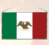 Mexican Stained Glass Flag