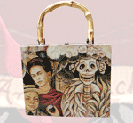 Kahlo Cigar Box Purse