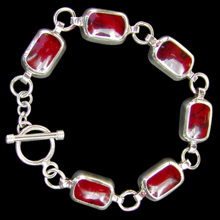 Mexican Red Coral Bracelet