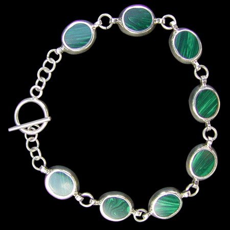 Mexican Malachite Bracelet